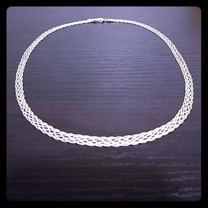 Jewelry - ❤️ Day 🎁! Italian 925 Sterling Silver necklace.